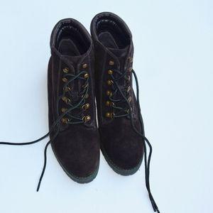 Lauren by Ralph Lauren Suede Boots